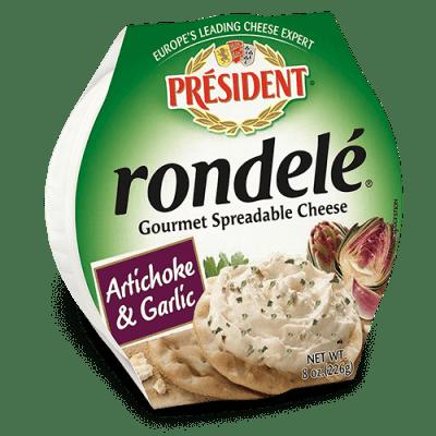 Rondelé® by Président® 8 oz Artichoke & Garlic