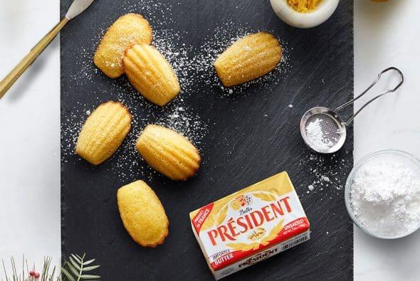 president-butter-&-warm-madeleines
