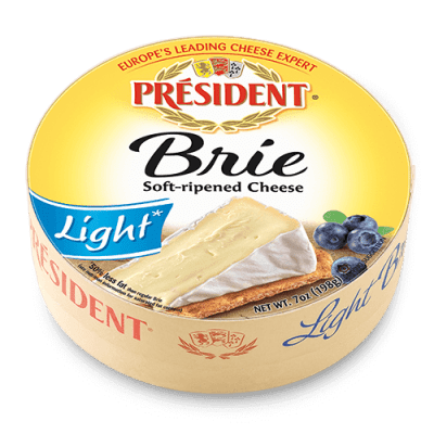 Président® 7 oz Brie round light