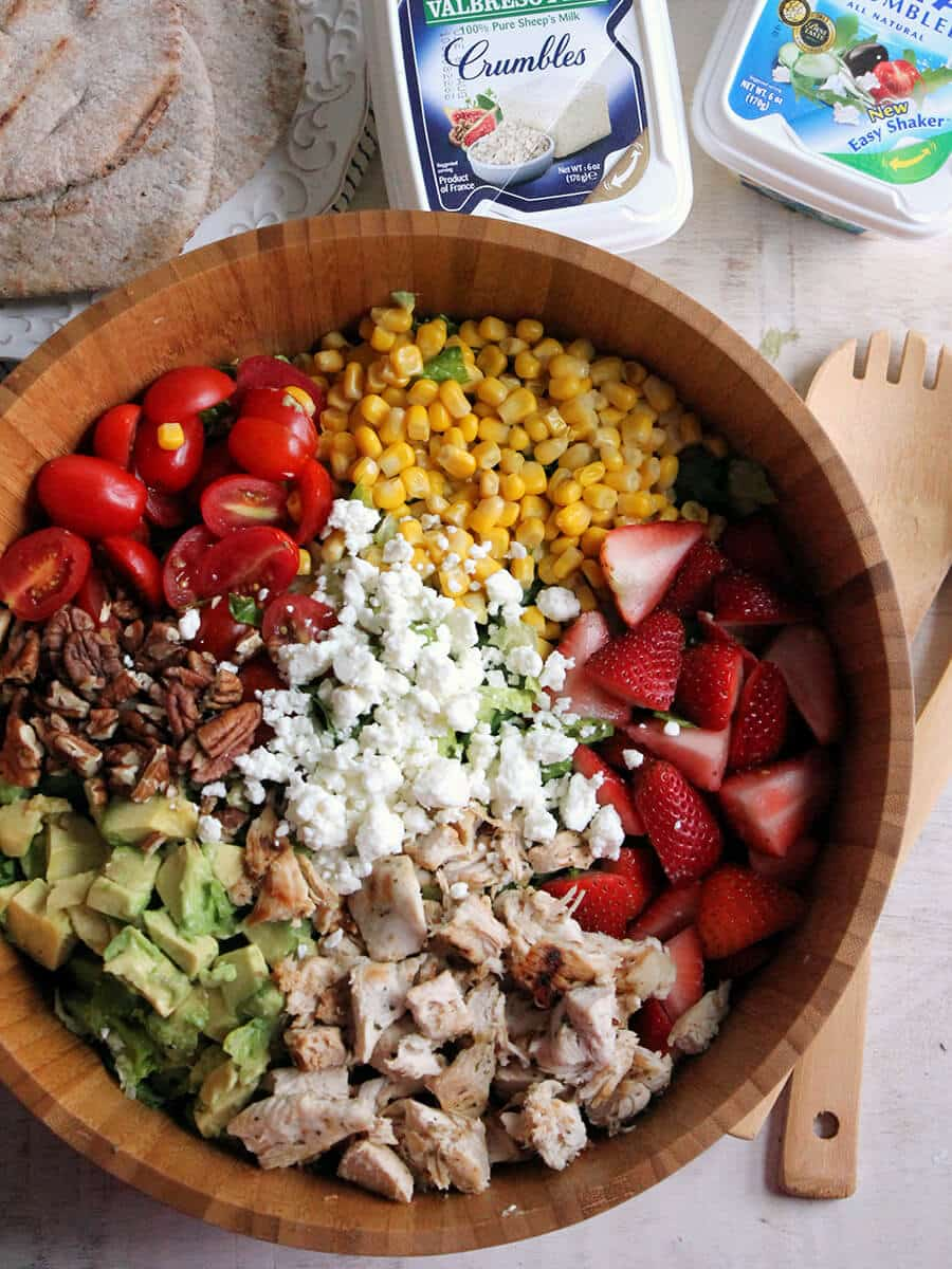 chopped chicken summer salad a stunning summertime salad that is ...