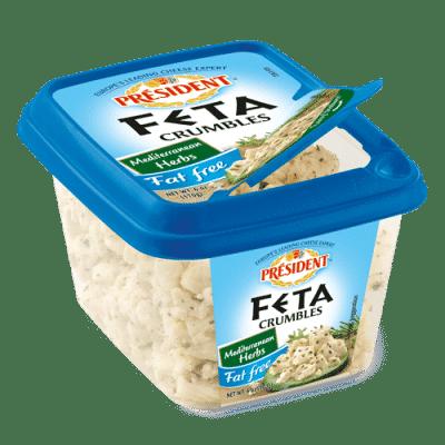 President® Fat Free Feta Crumbles - Mediterranean Herbs