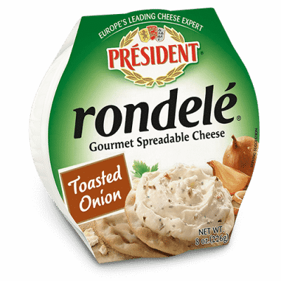 Rondelé® by Président® 8 oz Toasted Onion